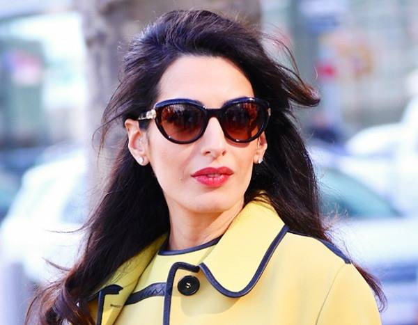 Amal Clooney's $18K Coat Collection Will Make You Excited for Winter